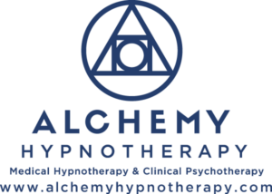 This is the full Alchemy Hypnotherapy Logo.