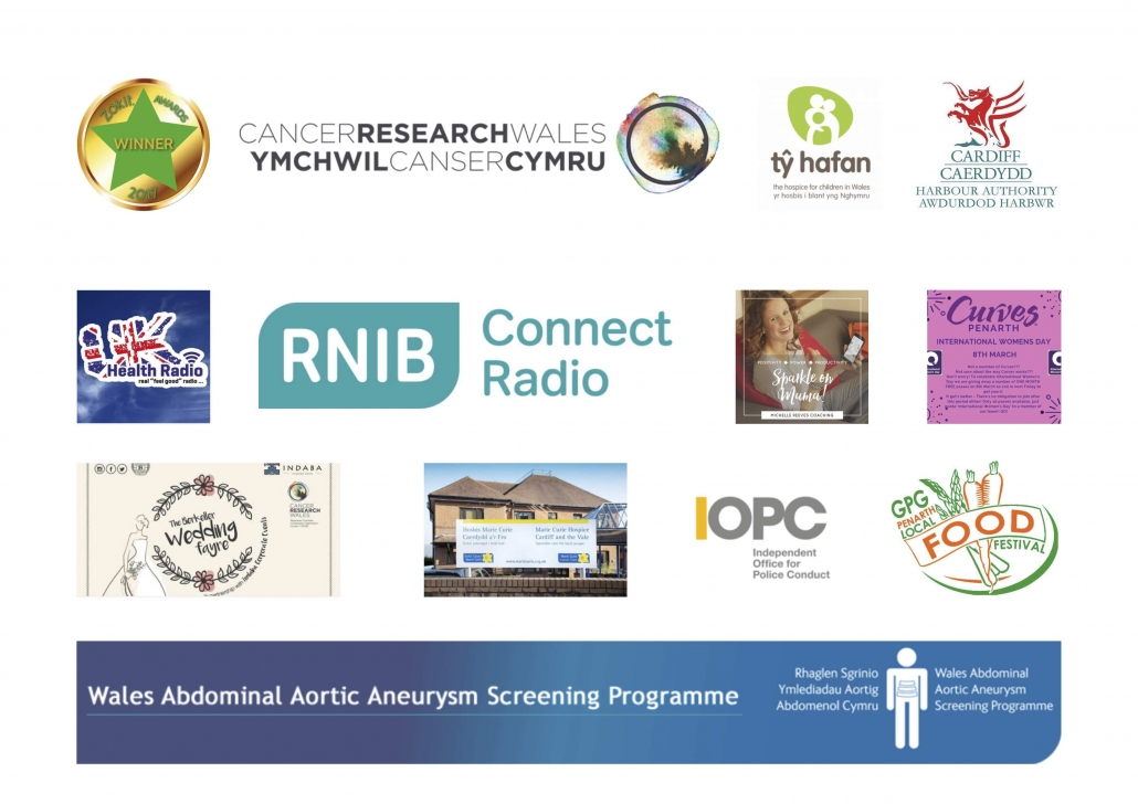 This is a picture of just some of the organisations we have worked for.